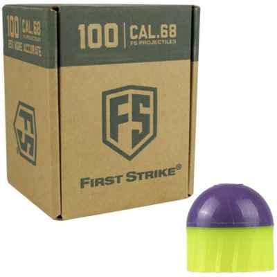 Tiberius Arms First Strike Paintballs 100 Schuss Box (grün/lila) | Paintball Sports