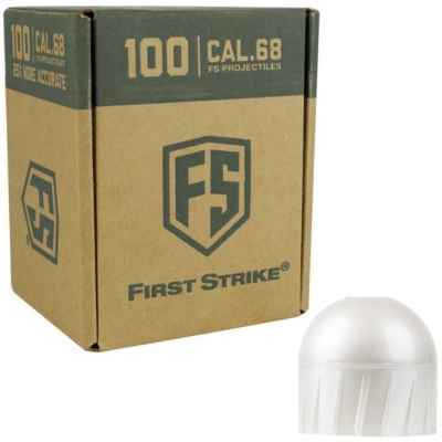 Tiberius Arms First Strike Paintballs 100 Schuss Box (grau/weiss) | Paintball Sports