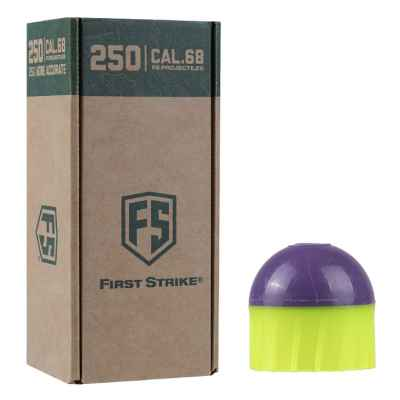First Strike Paintballs 250 Schuss Big-Box (grün/lila) | Paintball Sports