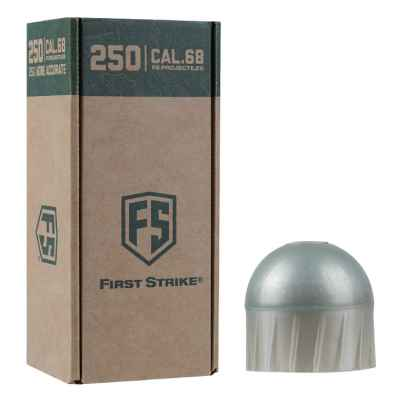 Tiberius Arms First Strike Paintballs 250 Schuss Big-Box (grau/blau) | Paintball Sports