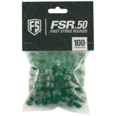 First Strike Cal. 50 Paintballs 100 Schuss (klar/grün) | Paintball Sports
