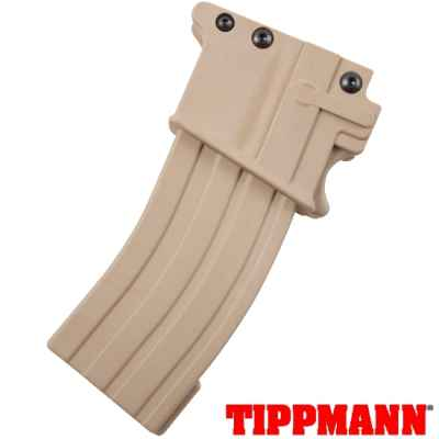 Tippmann A-5 M-16/M4 Air-Thru Magazin (Desert / Tan) | Paintball Sports