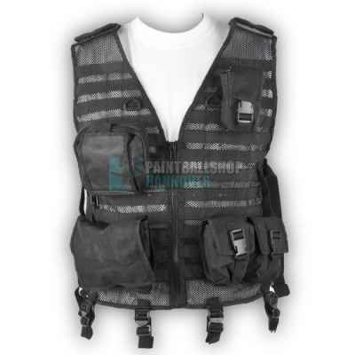 Assault Paintball Tactical Weste (schwarz) | Paintball Sports