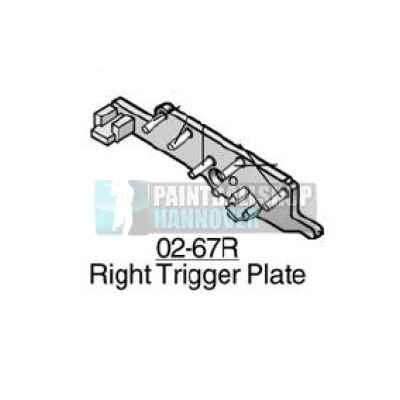 Tippmann Trigger Plate right 02-67R | Paintball Sports