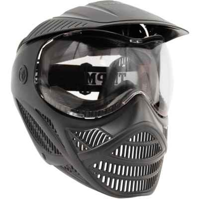 Tippmann Valor Rental Paintball Maske (schwarz, Thermal Glas) | Paintball Sports