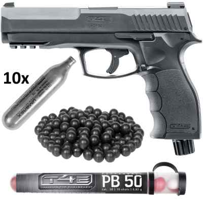 Umarex T4E HDP 50 Pistole HOME DEFENCE Kit (schwarz) | Paintball Sports