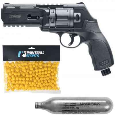 Umarex HDR50 Paintball Revolver Players Pack (schwarz) | Paintball Sports