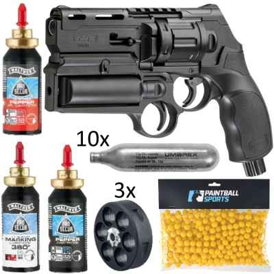 Umarex T4E HDR 50 Revolver SELF-DEFENCE-KIT (19-teilig) | Paintball Sports