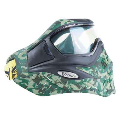 V-Force Grill Paintball Thermal Maske (Jungle Camo) | Paintball Sports