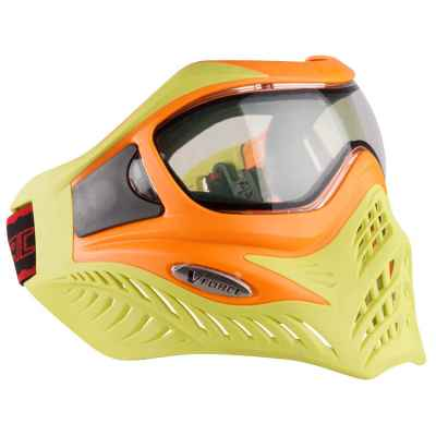 V-Force Grill Paintball Thermalmaske Ltd. Edition (orange/lime) | Paintball Sports