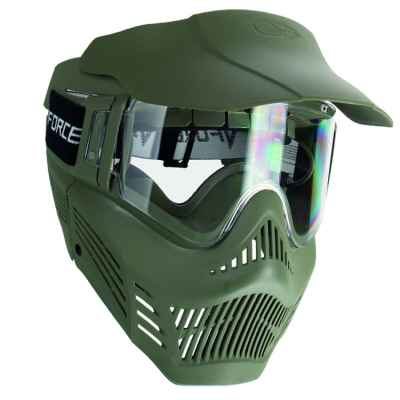 V-Force Armor Rental Paintball Thermal Maske (oliv) | Paintball Sports