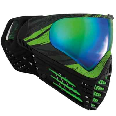 Virtue VIO Graphics Contour Paintball Maske (Emerald) | Paintball Sports