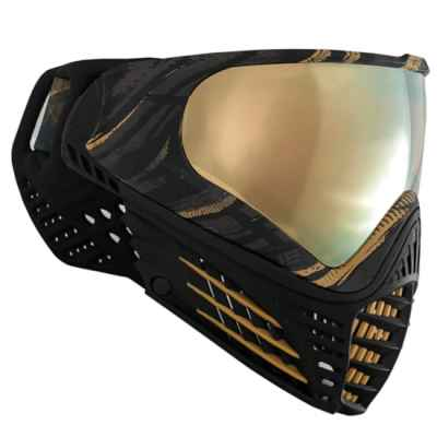Virtue VIO Graphics Contour Paintball Maske (Gold) | Paintball Sports