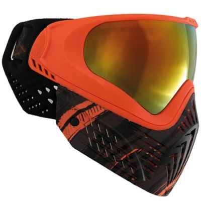 Virtue VIO EXTENDED Graphics Paintball Maske (Amber) | Paintball Sports