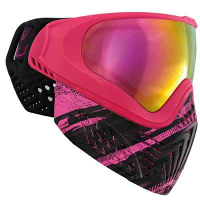 Virtue VIO EXTENDED Graphics Paintball Maske (Ruby) | Paintball Sports
