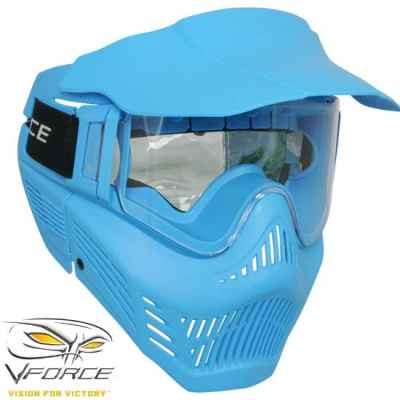 V-Force Armor Rental Paintball Maske (blau) | Paintball Sports