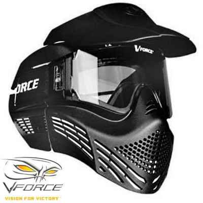 V-Force Armor Rental Paintball Thermal Maske (schwarz) | Paintball Sports