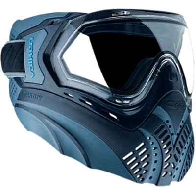 Valken Identity Paintball Thermal Maske (Navy blau) | Paintball Sports