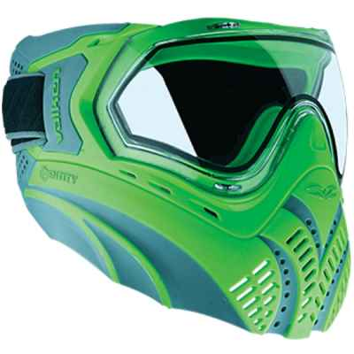 Valken Identity Paintball Thermal Maske (grau/grün) | Paintball Sports