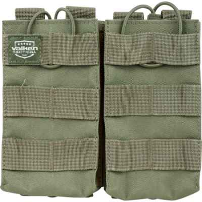 Valken Tactical Molle Magazine Pouch / Magazintasche M16 / M4 / AR-15 (Double) Oliv | Paintball Sports