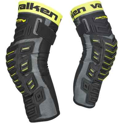 Valken Phantom Agility Paintball Kneepads / Knieschoner (schwarz) XL | Paintball Sports