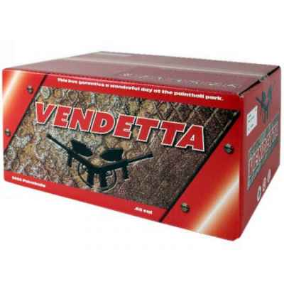 Vendetta Tactical Premium Paintballs (2000er Karton) | Paintball Sports