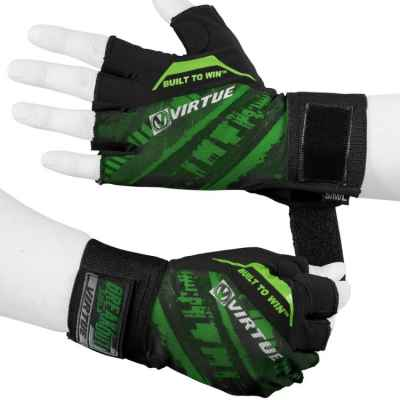 Virtue Breakout Paintball Halbfinger Handschuhe (grün) | Paintball Sports