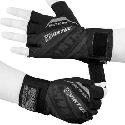 Virtue Breakout Paintball Halbfinger Handschuhe (schwarz) | Paintball Sports