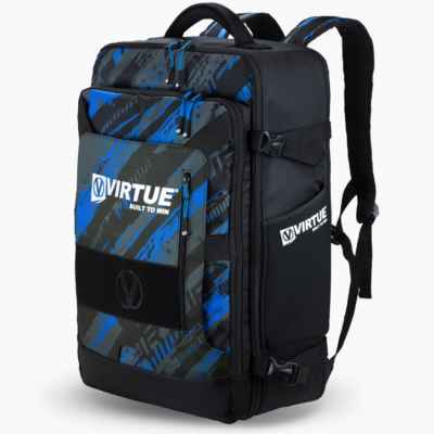 Virtue Gambler Expanding Gear Backpack / Paintball Rucksack (blau) | Paintball Sports