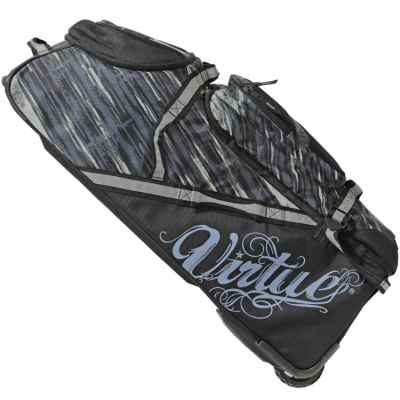 Virtue High Roller Gear Bag Paintball Tasche (schwarz/grau) | Paintball Sports