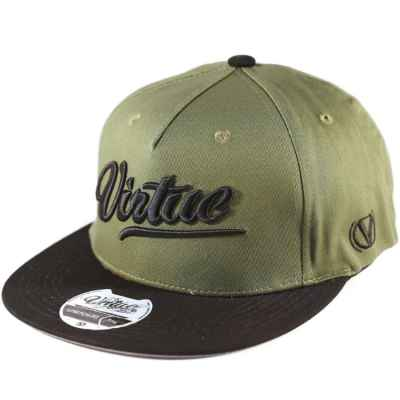 Virtue Paintball Flex Fit Hat (Olive - Renegade All-Star) 2XL | Paintball Sports