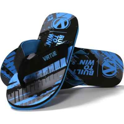 Virtue Paintball Onset Flip Flop (graphic cyan) | Paintball Sports