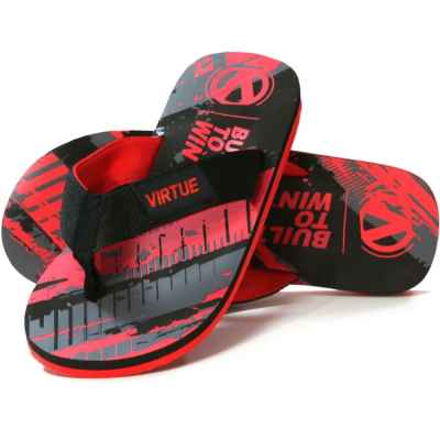 Virtue Paintball Onset Flip Flop (graphic red)   Paintball Sports