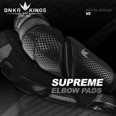 BunkerKings Royal Guard V2 Supreme Paintball Ellenbogenschoner | Paintball Sports