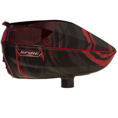 Virtue Spire 260 Paintball Hopper (Graphic rot) | Paintball Sports