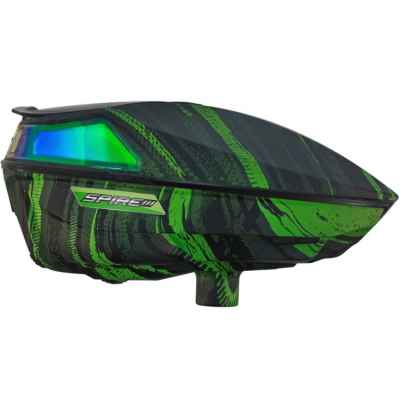 Virtue Spire 3 Paintball Hopper / Loader (Graphics Emerals grün) | Paintball Sports