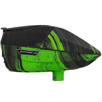 Virtue Spire IR Paintball Hopper / Loader (Graphic Lime) | Paintball Sports