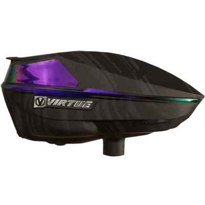 Virtue Spire IV Paintball Hopper / Loader (Graphic Amethyst) | Paintball Sports
