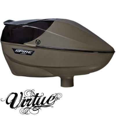 Virtue Spire True 260 Paintball Hopper (FDE - Flat Dark Earth) | Paintball Sports