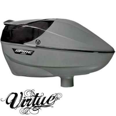 Virtue Spire True 260 Paintball Hopper FGG - Forrest Green Gray | Paintball Sports