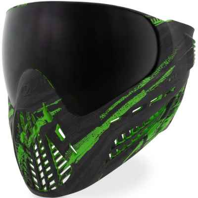 Virtue VIO Ascend Paintball Maske (Graphic Lime)   Paintball Sports