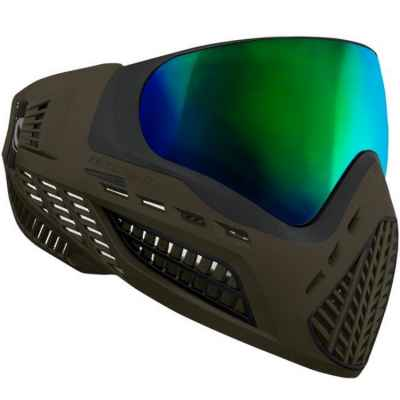Virtue VIO Ascend Paintball Maske (Oliv Emerald) | Paintball Sports