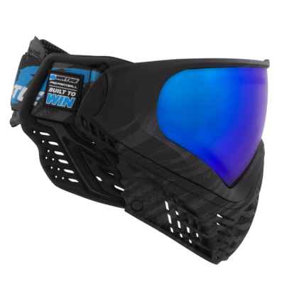 Virtue VIO Contour II Paintball Maske (Black Ice) | Paintball Sports