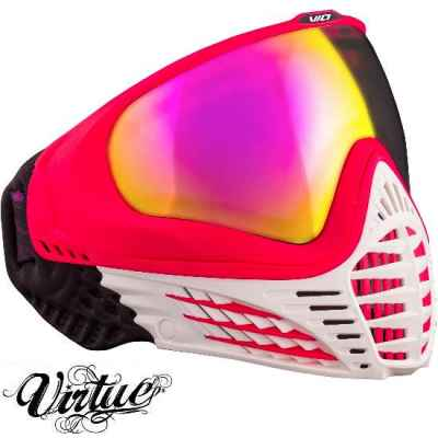 Virtue VIO Paintball Thermal Maske (White Ruby) | Paintball Sports