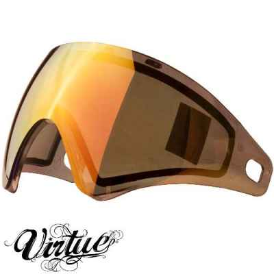 Virtue VIO Paintball Thermal Maskenglas (Chromatic Amber) | Paintball Sports