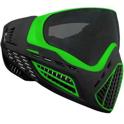Virtue VIO Ascend Paintball Maske (Lime / Black) | Paintball Sports