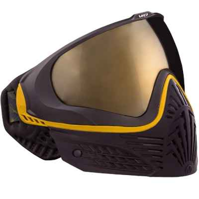 Virtue VIO EXTENDED Paintball Thermal Maske (Black Gold) | Paintball Sports