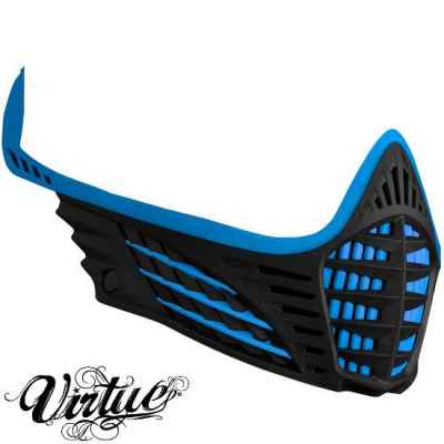 Virtue VIO Facemask / Maskenrahmen (Cyan / schwarz) | Paintball Sports