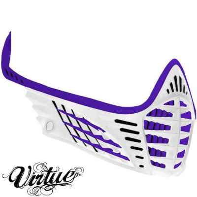 Virtue VIO Facemask / Maskenrahmen (lila / weiss) | Paintball Sports