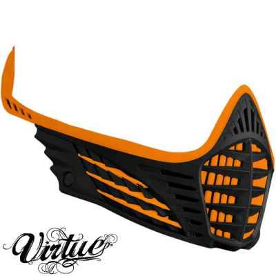 Virtue VIO Facemask / Maskenrahmen (orange / schwarz) | Paintball Sports